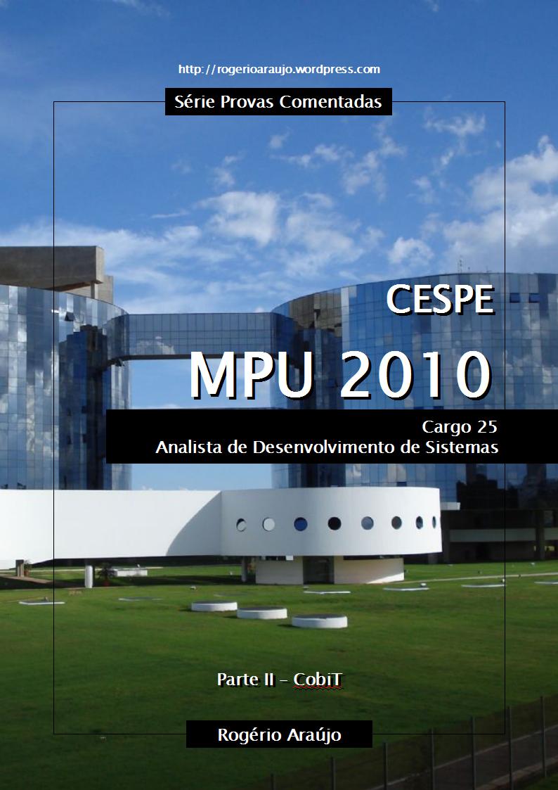 CESPE 2010 MPU - Cargo 25