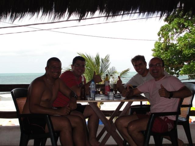 Almoço na Praia de Ponta Negra