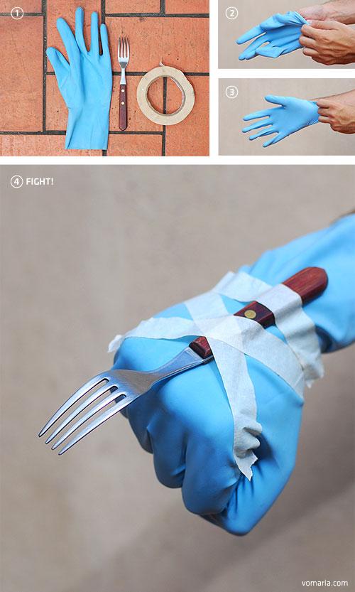 Seria o Wolverine, mas está mais para Garras de Gafo!