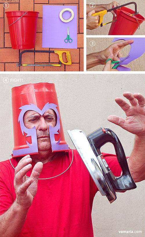 Seria o Magneto, mas está mais para O Véi da Sucata!
