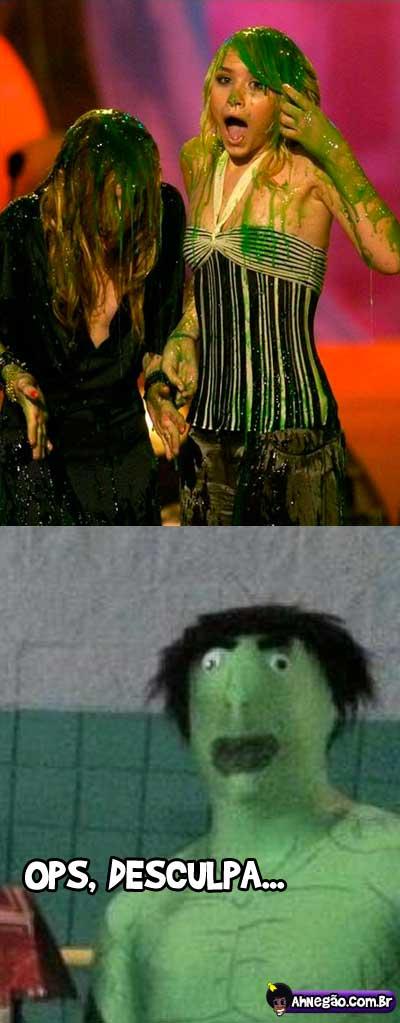 Hulk! Seu safadinho!