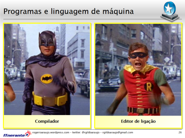 Batman e Robin.